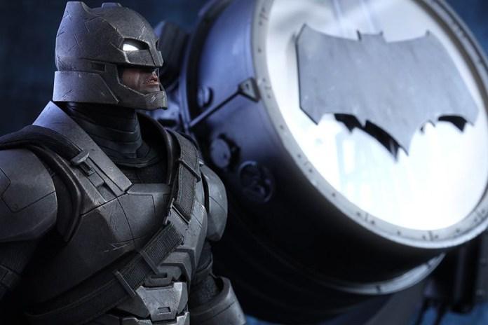 Hot Toys Unveils Its Armored Batman