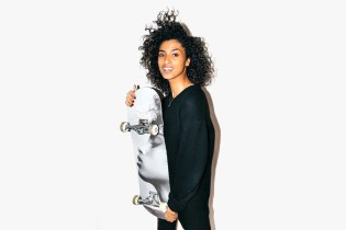 Supermodel Imaan Hammam's Face Graces a Limited Edition Skate Deck