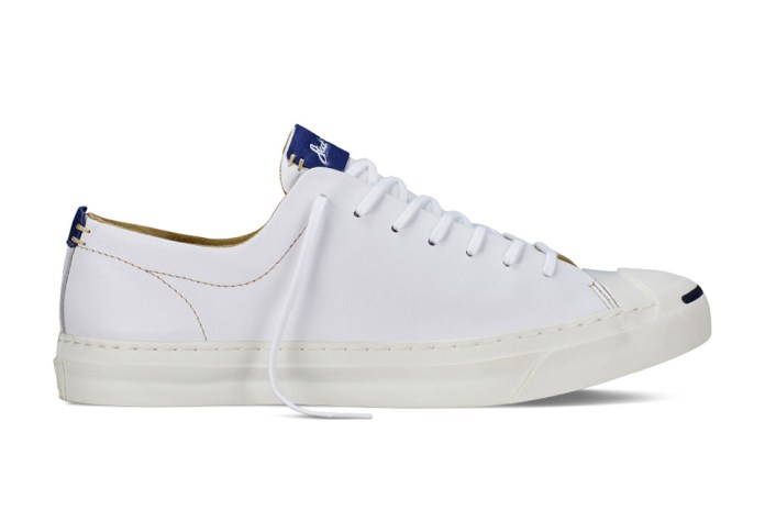 "The Converse Jack Purcell Gets a Luxe ""Tumbled Leather"" Makeover"