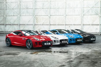 Jaguar Celebrates the F-Type With the Colors of the Union Jack