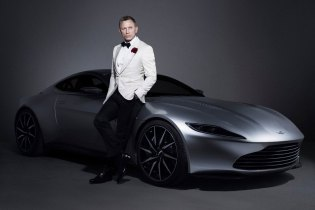 James Bond's Aston Martin DB10 From 'Spectre' Is up for Auction