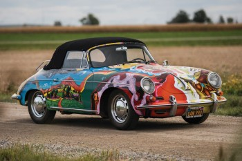 Up-Close With Janis Joplin's Psychedelic Porsche 356 SC