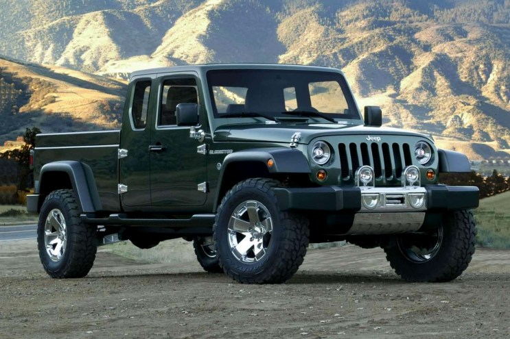 Jeep Is Set to Build a Wrangler-Based Truck