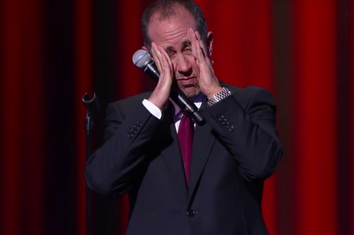 Watch Jerry Seinfeld's Five-Minute 'Late Show' Stand-Up Set