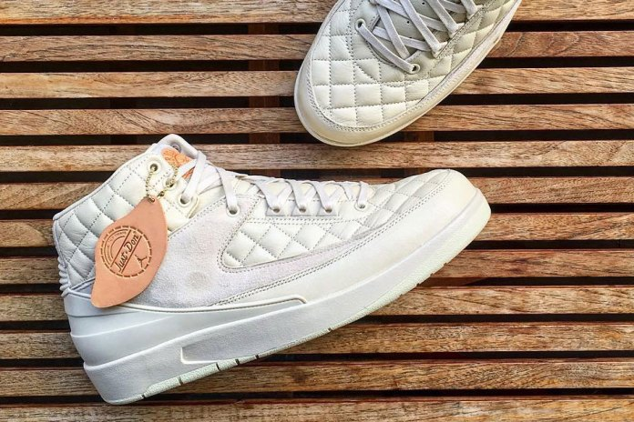 "Here's a First Look at the Just Don x Air Jordan 2 ""Cream"""