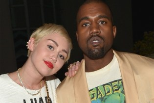 "Kanye West & Miley Cyrus' ""Black Skinhead"" Remix Surfaces"