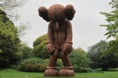 Watch a KAWS Sculpture Come Together in This Preview for the Artist's Yorkshire Sculpture Park Exhibition