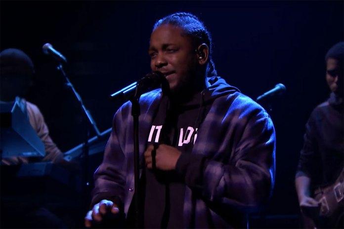 "Kendrick Lamar Premiers ""Untitled 2"" on 'The Tonight Show Starring Jimmy Fallon'"