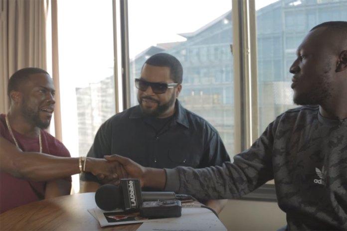 Watch Kevin Hart Take on Stormzy in a Rap Battle