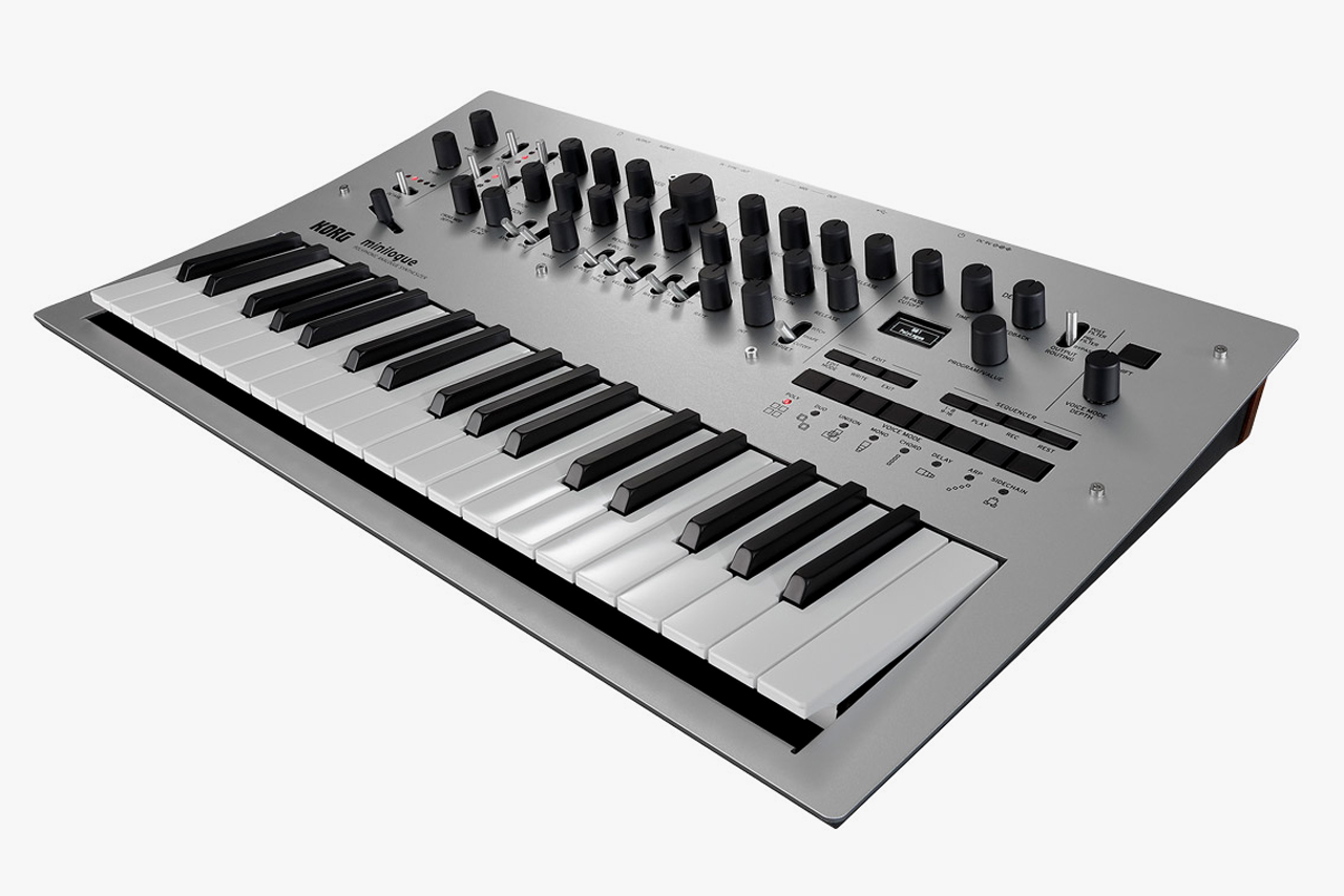 The KORG Minilogue Exceeds the Standards of Its Price Range