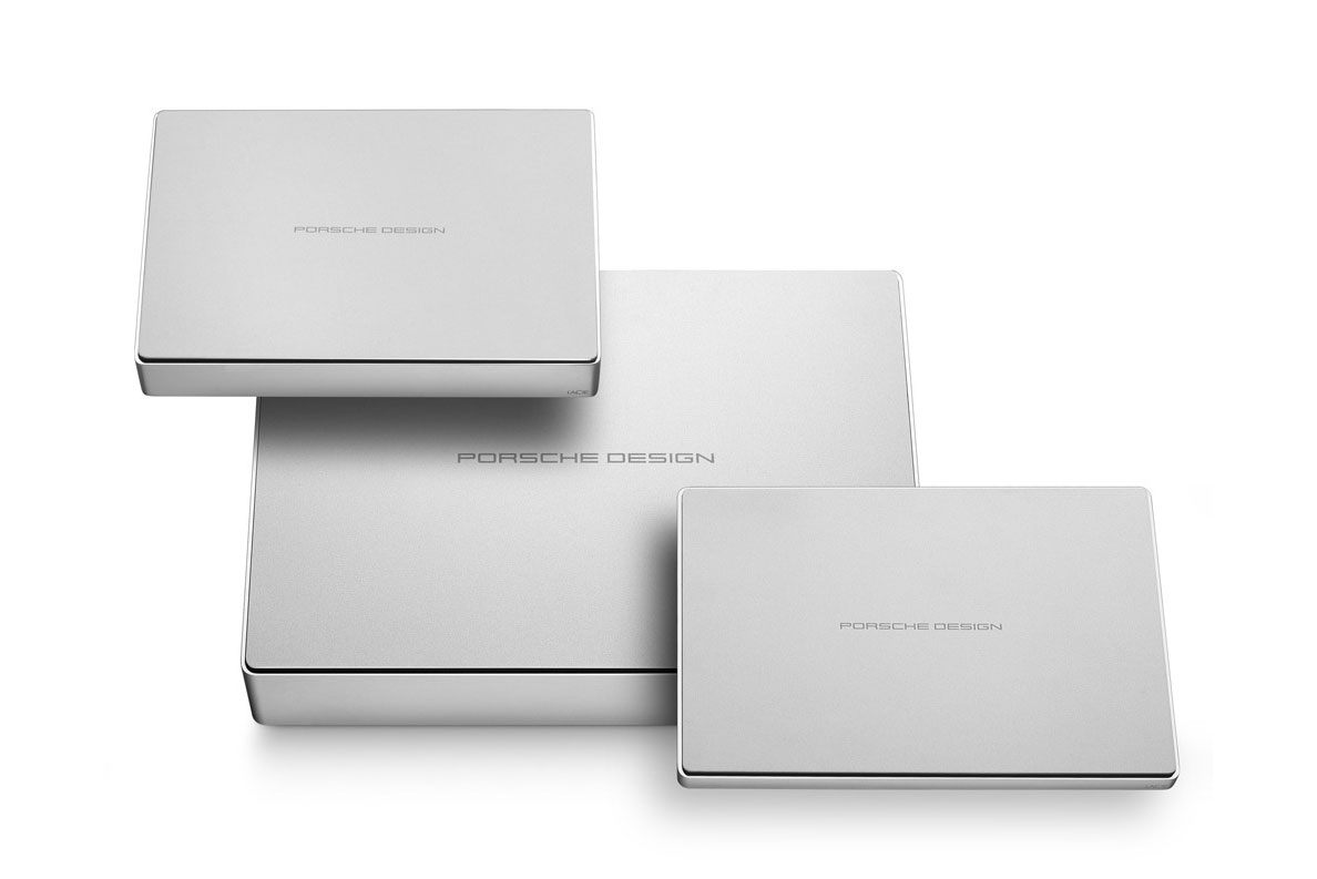 Power up Your Laptop With This Sleek Hard Drive by LaCie Porsche Design