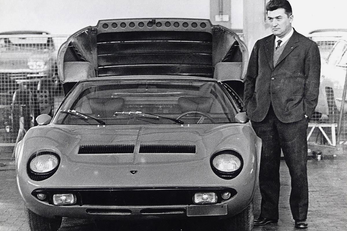 A Ferruccio Lamborghini Biopic Is Currently in the Works