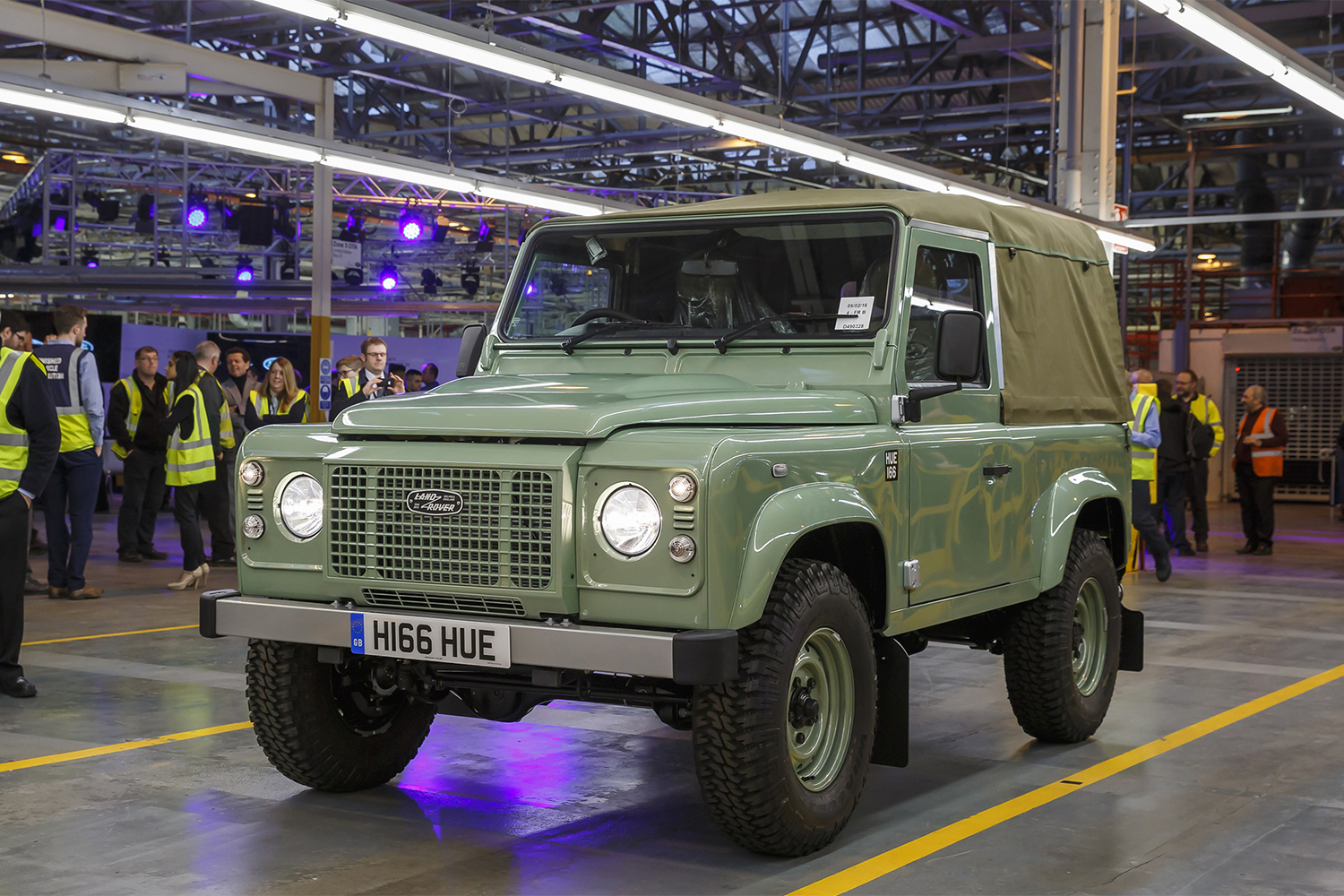 This Is the Last Land Rover Defender