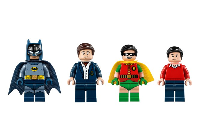 Take a Trip to the 60s With LEGO's Batcave Collection