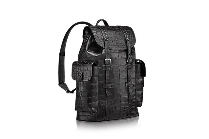 Louis Vuitton's New Crocodile Leather Backpack Costs $81,500 USD