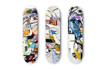 Make Skateboards x Eddie Martinez Limited Edition Decks