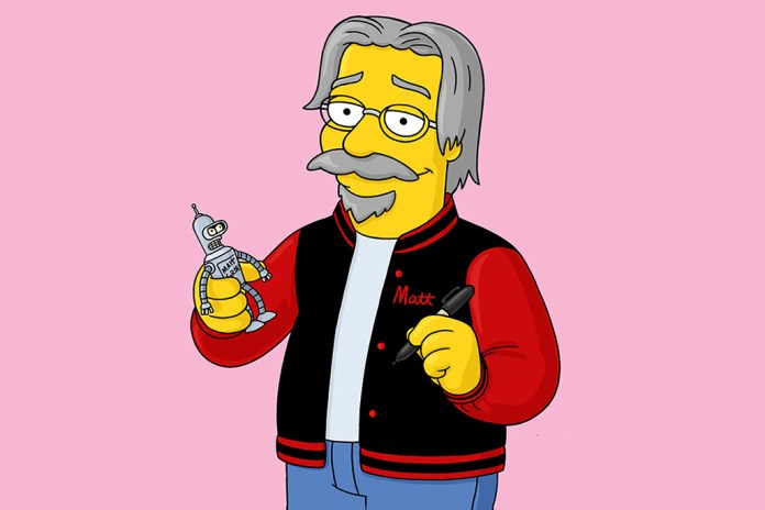 'The Simpsons' Creator Matt Groening In Talks With Netflix for New Animated Series