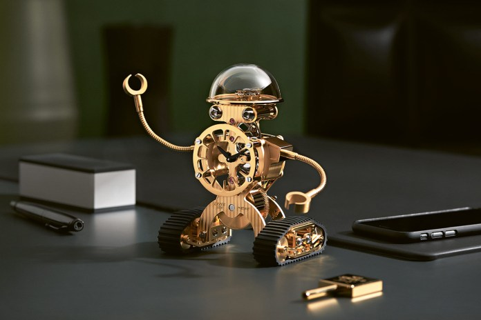 MB&F Delights With Its 'Sherman' Robot Clock