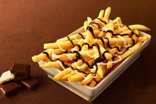You Can Now Have Chocolate-Topped French Fries in McDonald's Japan