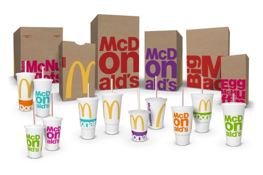 McDonald's Revamps Packaging With Bold, Colorful Graphics