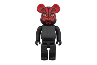 Star Wars x Medicom Toy Darth Maul 400% Bearbrick
