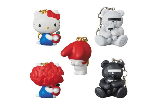 Medicom Toy to Release UNDERCOVER x Sanrio Keychains