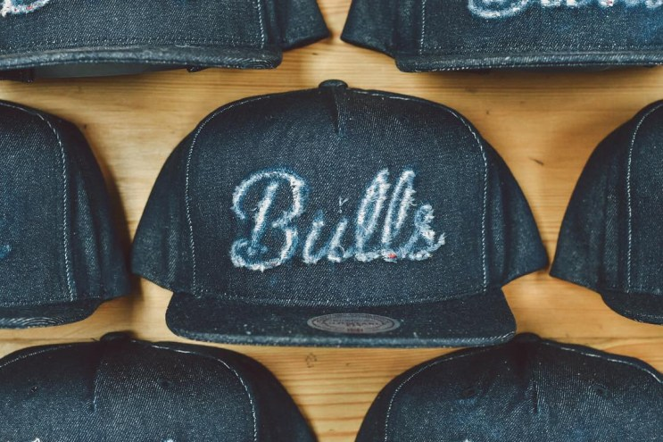 Mitchell & Ness x Lapstone & Hammer Deconstructed NBA Hat Collection