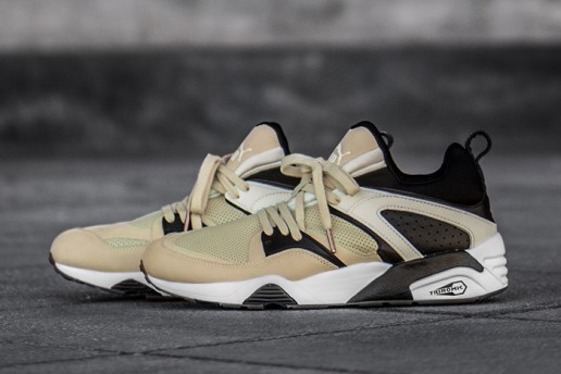 "monkey time x PUMA Blaze of Glory ""Secular Change"""
