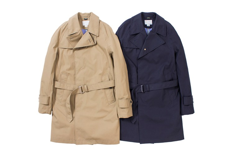 nanamica 2016 Spring/Summer GORE-TEX Trench Coat