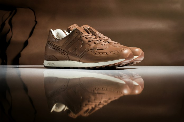 New Balance Collaborates With Grenson on a Very British Sneaker