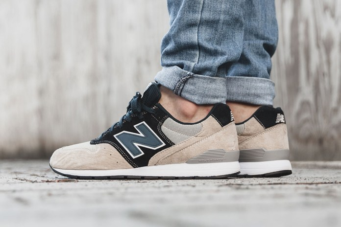 New Balance Combines Two MRL996s for Its Latest Colorway