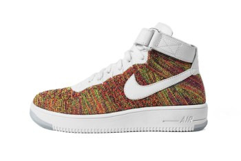 "A First Look at the Nike Air Force 1 Flyknit ""Multicolor"""