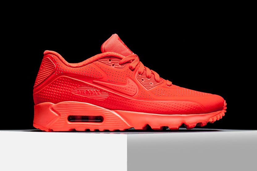 all red 90 air max