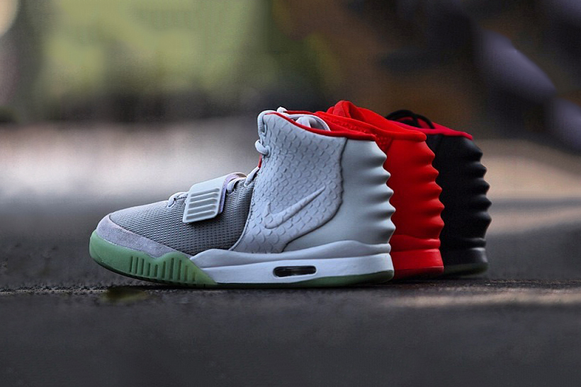 Image result for nike air yeezy 2
