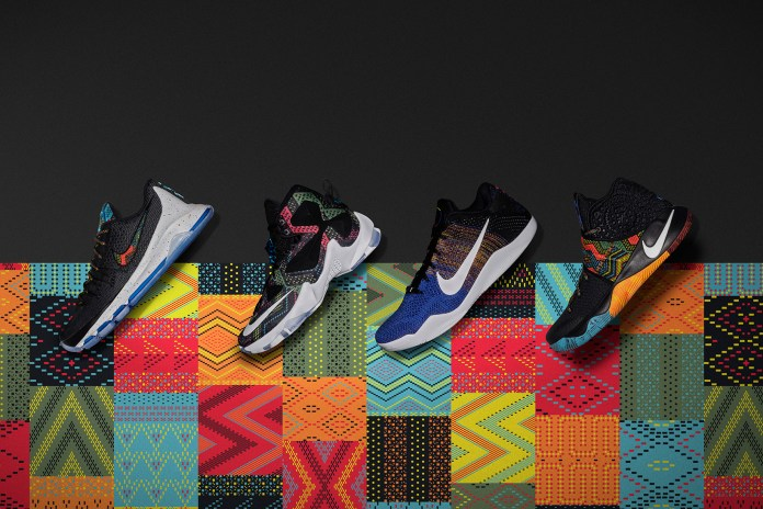 """Nike Basketball Debuts Its 2016 """"Black History Month"""" Collection"""