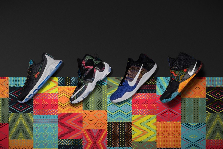 "Nike Basketball Debuts Its 2016 ""Black History Month"" Collection"