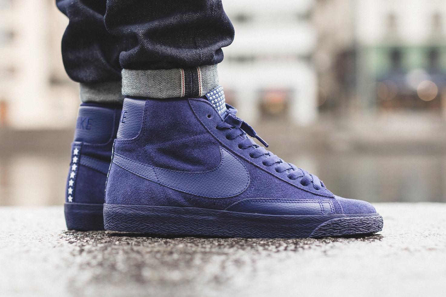 "Nike Blazer Mid PRM VNTG ""Loyal Blue"""