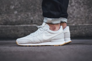"Nike Internationalist Premium ""Phantom White"" Mimics the Snowy Winter"