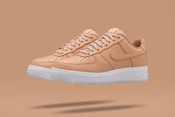"NikeLab Isn't Done Just Yet With the Nike Air Force 1 ""Tan"""
