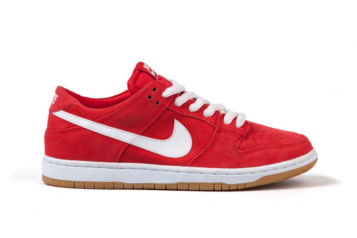 """Nike SB Dunk Low """"Ishod Wair"""" University Red/White"""