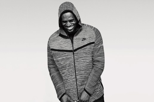 LeBron James Introduces Nike's 2016 Spring Tech Knit Collection