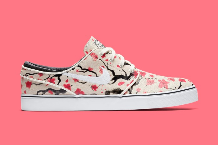 "Nike SB's Zoom Stefan Janoski Silhouette is Next Up to Get the ""Cherry Blossom"" Treatment"