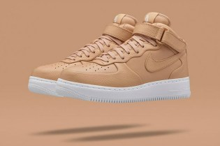 "NikeLab Air Force 1 Mid ""Tan"""