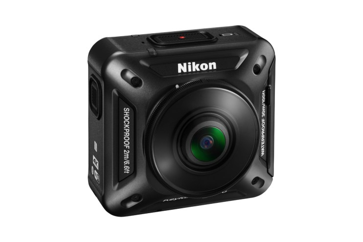Nikon Unveils Its First Action Camera Built for 360-Degree Videos and Virtual Reality