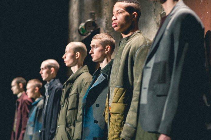 A Front Row Look at the OAMC 2016 Fall/Winter Collection