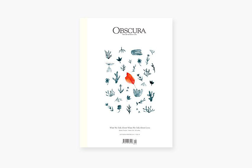 'Obscura' Magazine Vol. 19 Focuses on the Topic of Love