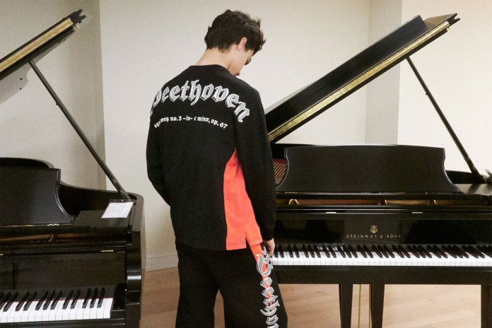 Opening Ceremony Designs Tour Merch for Classical Musicians