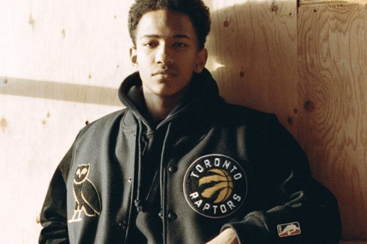 October's Very Own x Toronto Raptors x Mitchell & Ness 2016 Spring Lookbook