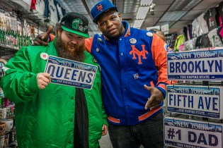 "Packer x Starter ""Coming to America"" Collection Starring Action Bronson & Meyhem Lauren"