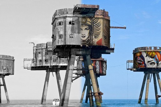 'Painted Oceans' Will Put 7 of the Greatest Street Artists in the Middle of the Ocean